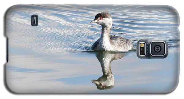 Galaxy S5 Case featuring the photograph Serene Grebe by Anita Oakley