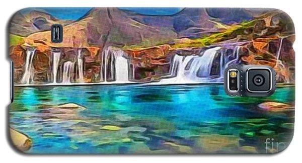 Serene Green Waters Galaxy S5 Case