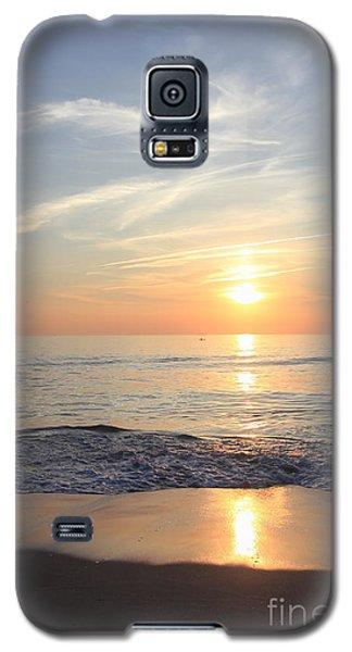 Serene Ocean Sunrise Galaxy S5 Case by Mary Haber