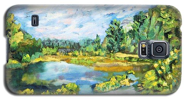 Serene Pond Galaxy S5 Case
