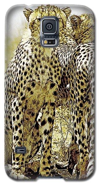 Serengeti Cheetahs 2 Galaxy S5 Case