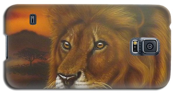 Serengeti King Galaxy S5 Case