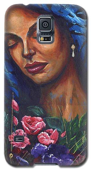 Galaxy S5 Case featuring the painting Serenity by Alga Washington
