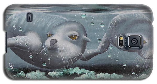 Galaxy S5 Case featuring the painting Serenity by Dianna Lewis