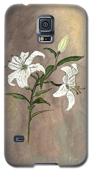 Galaxy S5 Case featuring the painting Serenity by Ella Kaye Dickey