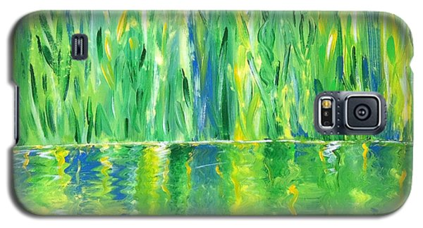 Serenity In Green Galaxy S5 Case by Donna Blackhall