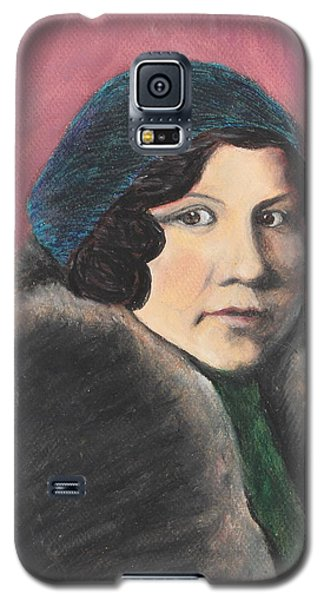 Galaxy S5 Case featuring the painting Serenity by Jeanne Fischer