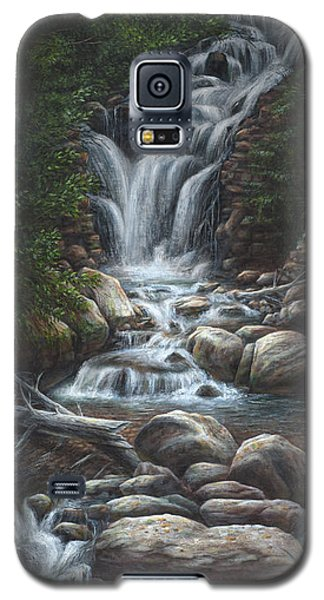 Galaxy S5 Case featuring the painting Serenity by Kim Lockman