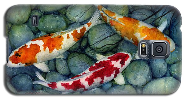 Serenity Koi Galaxy S5 Case by Hailey E Herrera
