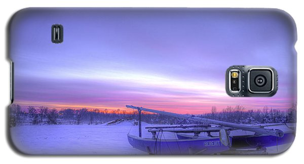 Galaxy S5 Case featuring the photograph Serenity On A Sea Of Snow by Micah Goff