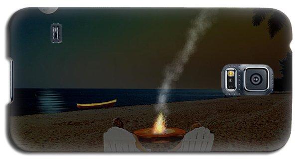 Serenity On The Beach Galaxy S5 Case
