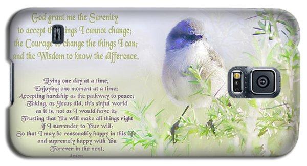 Serenity Prayer Galaxy S5 Case