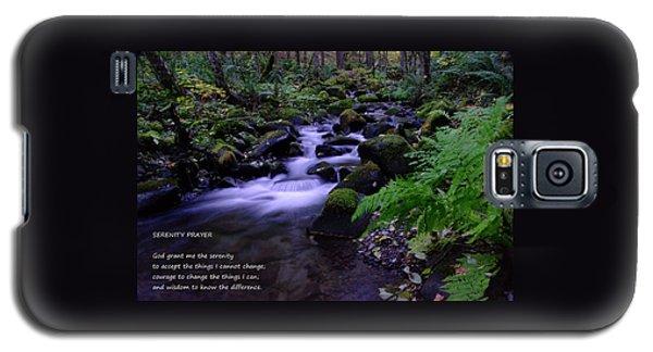 Serenity Prayer  Galaxy S5 Case by Jeff Swan