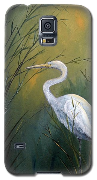 Galaxy S5 Case featuring the painting Serenity by Suzanne Theis