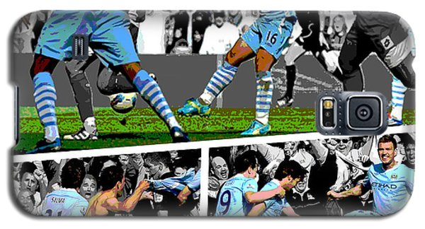 Place Galaxy S5 Case - Sergio Aguero Goal Vs Qpr by Pro Prints