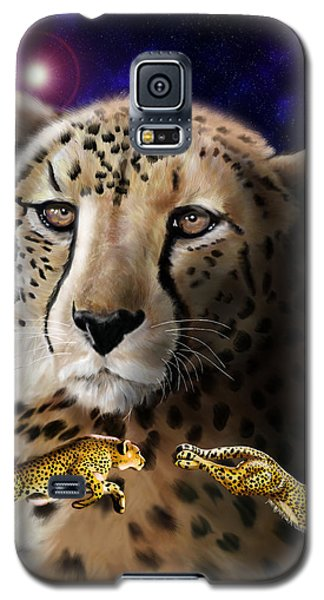 First In The Big Cat Series - Cheetah Galaxy S5 Case