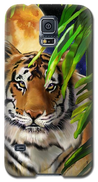 Second In The Big Cat Series - Tiger Galaxy S5 Case