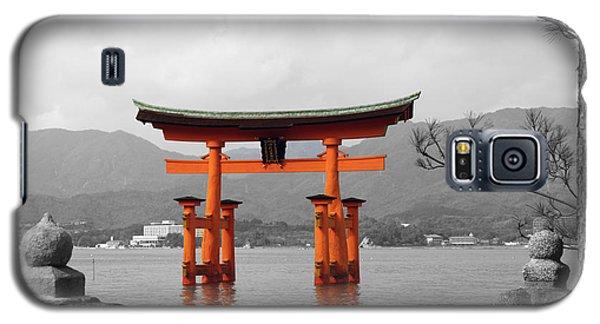 Galaxy S5 Case featuring the photograph Seto Shrine by Cassandra Buckley