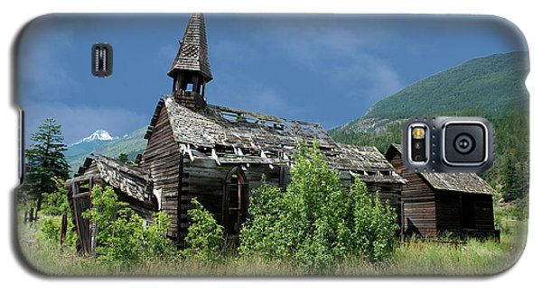 Galaxy S5 Case featuring the photograph Seton Portage Church by Rod Wiens