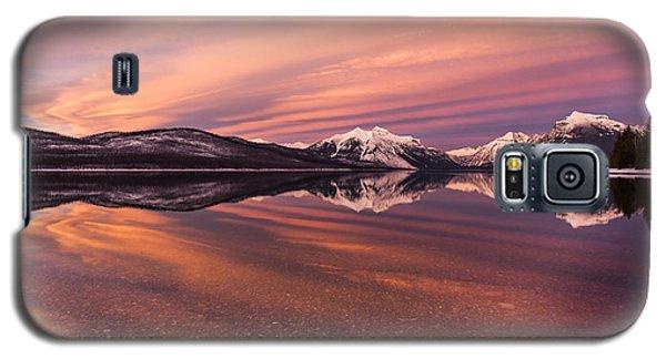 Setting On Glacier Galaxy S5 Case