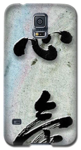 Settle Your Mind Teishinki Galaxy S5 Case by Peter v Quenter