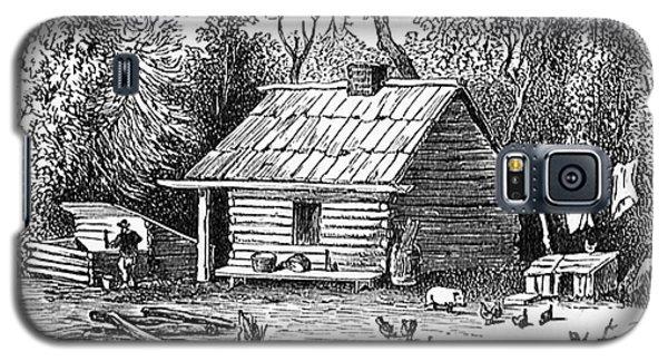 Settler's Log Cabin - 1878 Galaxy S5 Case