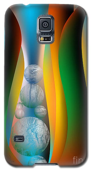Galaxy S5 Case featuring the digital art Seven Lean Years by Leo Symon