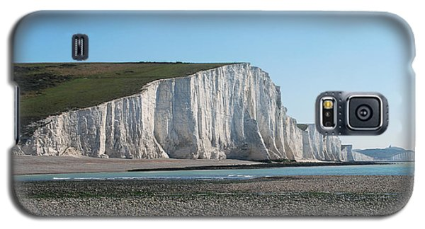 Seven Sisters Chalk Cliffs Galaxy S5 Case