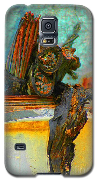 Galaxy S5 Case featuring the photograph Severed  by Christiane Hellner-OBrien