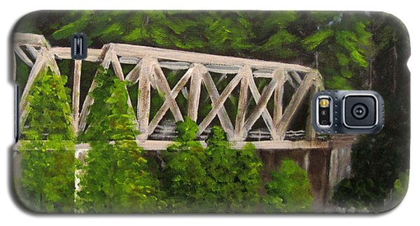 Sewalls Falls Bridge Galaxy S5 Case