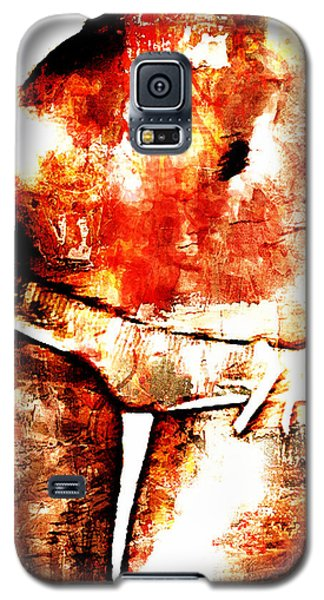 Galaxy S5 Case featuring the digital art Sexy Belly by Andrea Barbieri