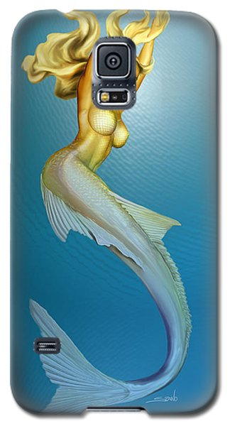 Sexy Mermaid By Spano Galaxy S5 Case