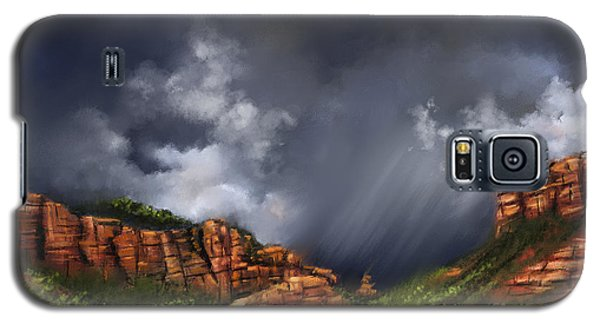 Thunderstorm In Sedona Galaxy S5 Case