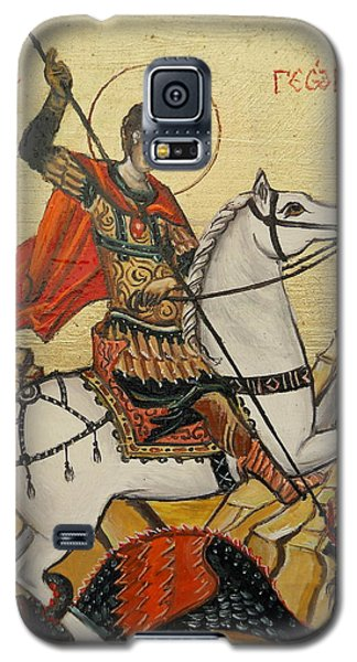 Sf. George And The Dragon Galaxy S5 Case by Sorin Apostolescu