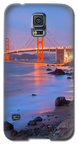Galaxy S5 Case featuring the photograph Sf Icon by Jonathan Nguyen