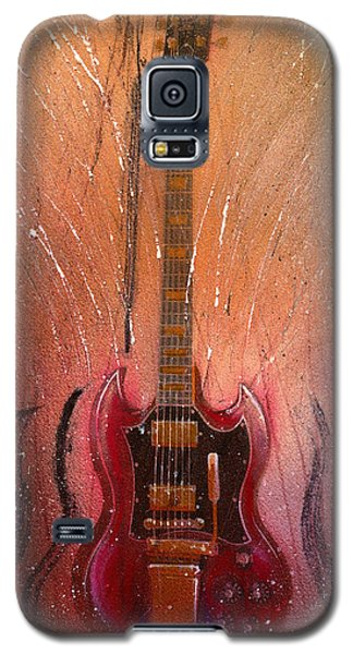 Galaxy S5 Case featuring the painting SG by Andrew King
