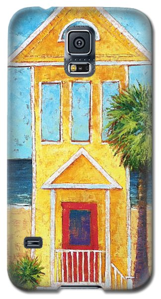 Galaxy S5 Case featuring the painting SGI by Pam Talley