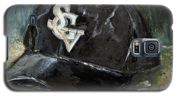 Galaxy S5 Case featuring the painting Sgv Baseball by Lindsay Frost