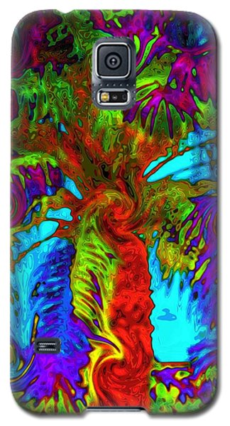Shade Trees On Venus Galaxy S5 Case by Alec Drake