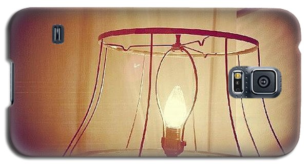 Light Galaxy S5 Case - Shadeless Lamp  by Jill Tuinier