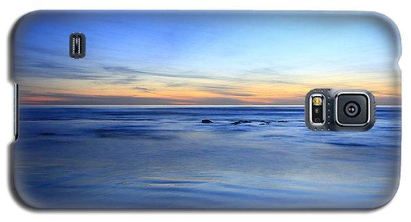 Rocks In Surf Carlsbad Galaxy S5 Case