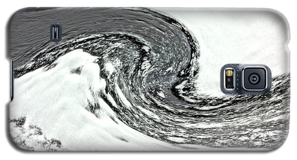 Galaxy S5 Case featuring the photograph Shades Of Cold by Debi Dmytryshyn