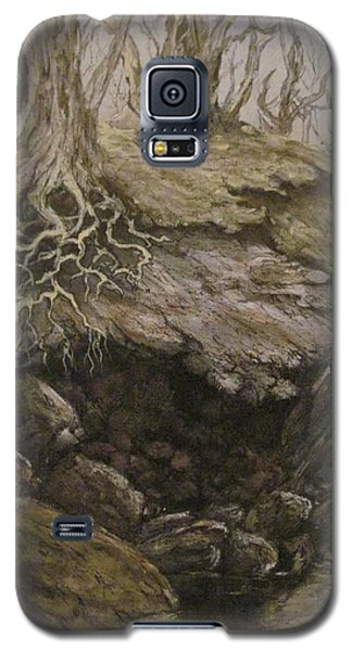 Galaxy S5 Case featuring the painting Shades Of Froud by Megan Walsh