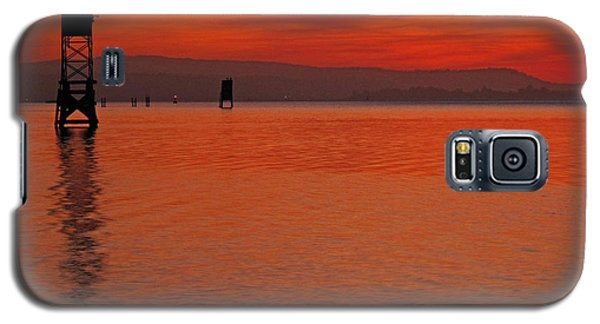 Shades Of Orange Galaxy S5 Case by Suzy Piatt