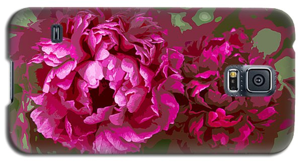 Galaxy S5 Case featuring the photograph Shades Of Pink  by Jeanette French