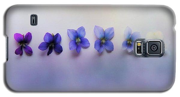 Shades Of Violet Galaxy S5 Case