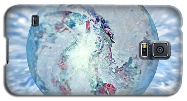 Galaxy S5 Case featuring the painting Shades Of Winter by Robin Moline