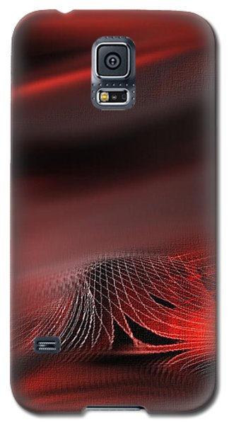Shades Series Fire Red Galaxy S5 Case by Yul Olaivar