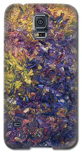Galaxy S5 Case featuring the painting Shadow Dance by James W Johnson
