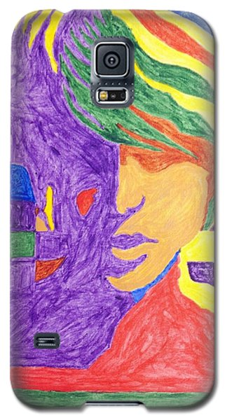 Galaxy S5 Case featuring the painting Prince Gemini   by Stormm Bradshaw